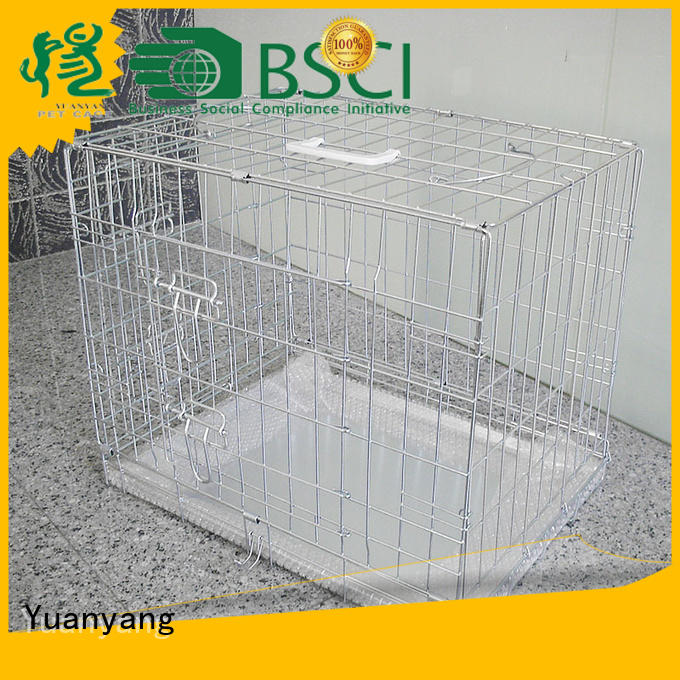 Yuanyang wire dog kennel company for transporting puppy