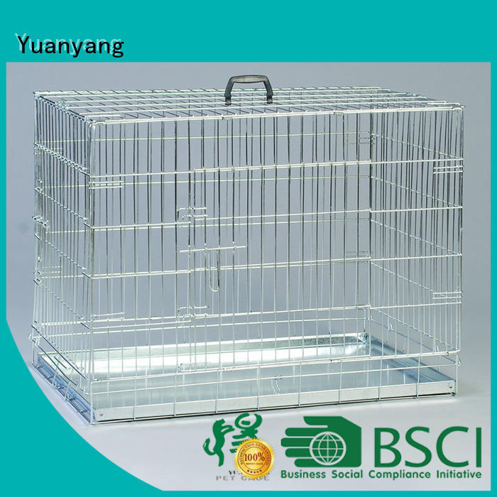 Yuanyang Excellent quality heavy duty dog kennel company for transporting puppy