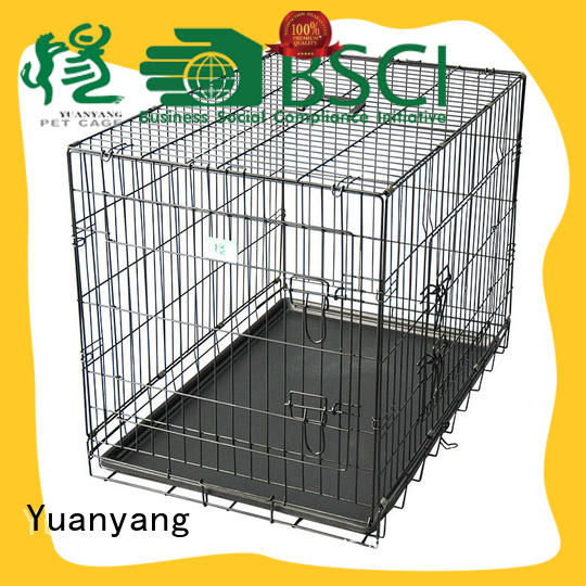 small metal kennel