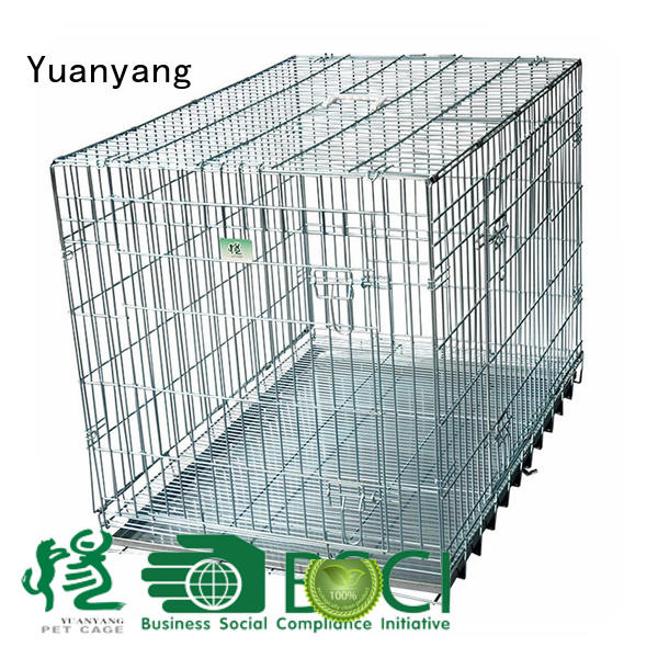Top wire pet cage company for transporting dog