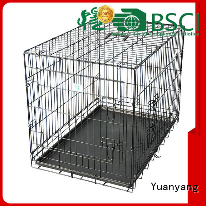 Top steel dog kennel supplier for transporting dog