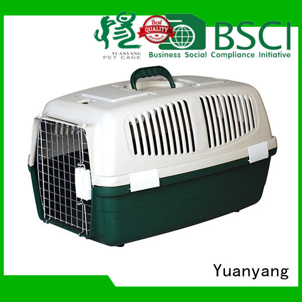 Top plastic pet crate factory for puppy carrying
