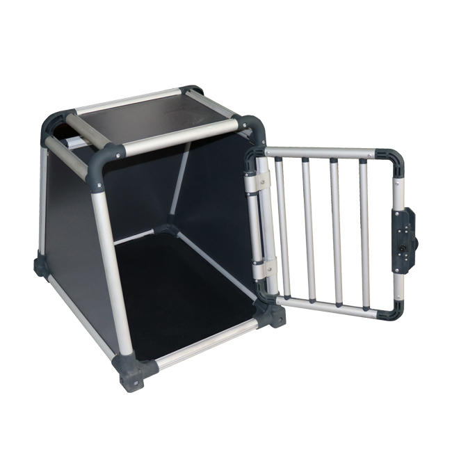 product-Yuanyang-Heavy Duty Dog Carrier Aluminum Dog Kennel Pet Transport Box YD024G-img