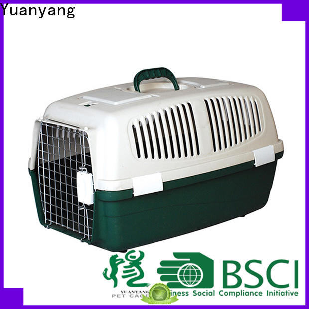 Yuanyang best plastic dog crate supplier for puppy carrying