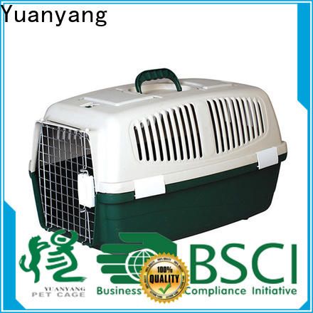 Yuanyang Durable best plastic dog crate supplier for puppy carrying