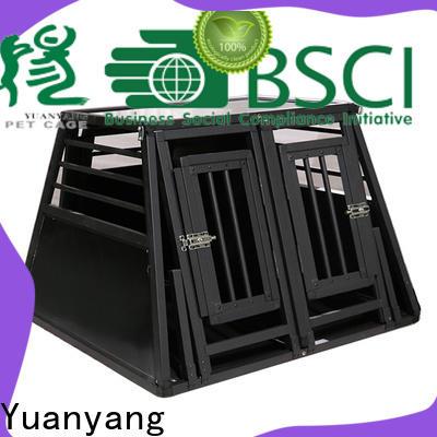 Custom heavy duty crates factory for dog car transport