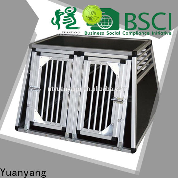 Yuanyang Professional heavy duty crates factory for dog car transport